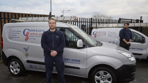 Crimewatch safeguard security and cctv services in middlesbrough